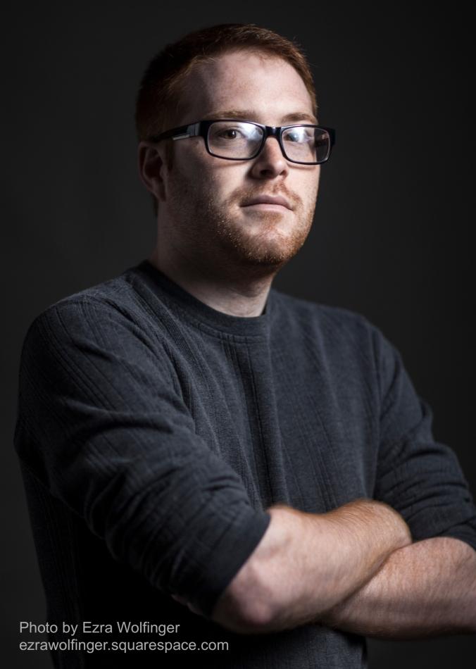 Author Photo by Ezra Wolfinger